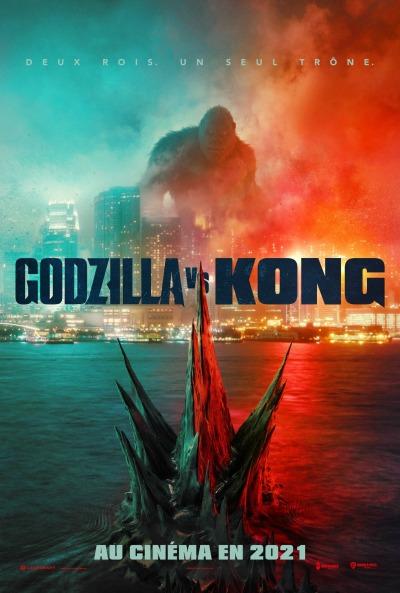 Godzilla vs Kong Affiche