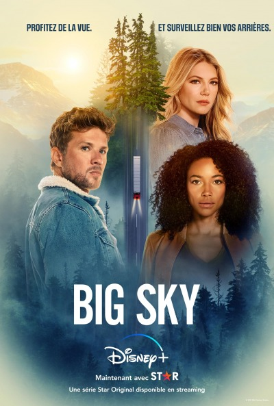 Big Sky Affiche Disney