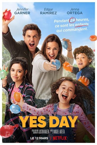 Yes Day Affiche Netflix