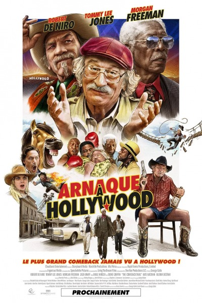 Arnaque à Hollywood Affiche