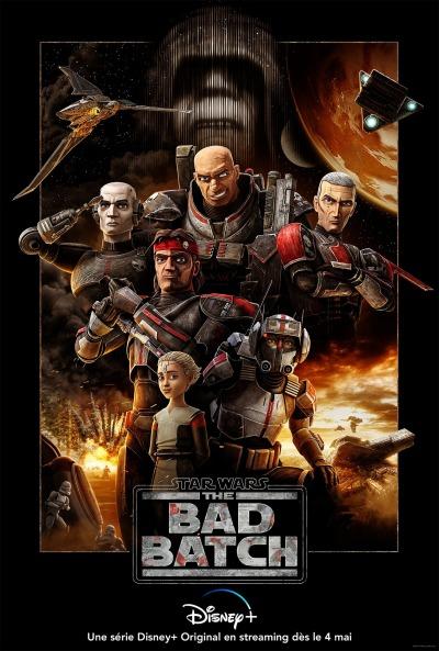 Star Wars The Bad Batch Affiche