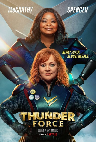 Thunder Force Affiche Netflix