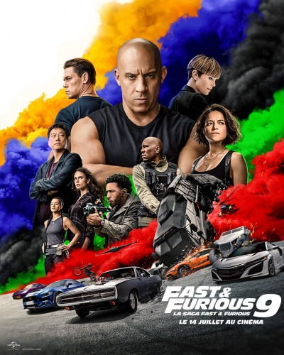 Fast And Furious 9 Affiche