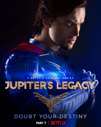 Jupiter's Legacy Affiche Netflix