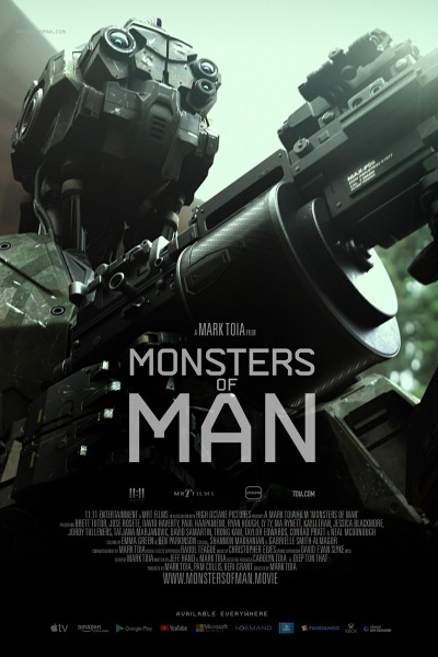 Monsters Of Man Affiche e1617825790636