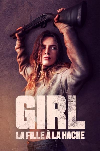 Girl La fille à la hache Affiche