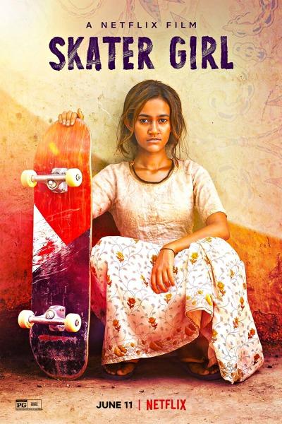 Skater Girl Affiche