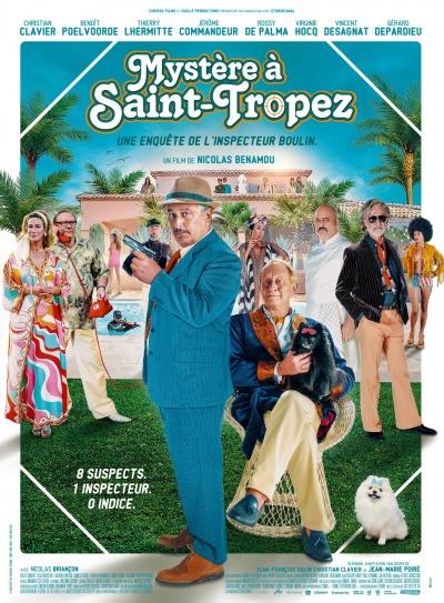 Mystère à Saint Tropez Affiche e1623152582506